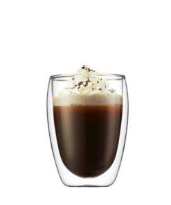 Sklenice na kávu Bodum PAVINA, dvoustěnné