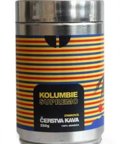 Kolumbijská zrnková káva