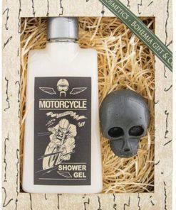 dárek pro motorkáře - tématická kosmetika