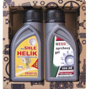 kosmetický balíček motorový olej pro motoristy