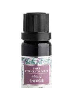 Směs éterických olejů Nobilis Tilia - Příliv energie (10 ml) - podpoří při nervové slabosti