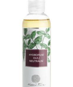 Hydrofilní olej neutrální Nobilis Tilia (200 ml) - vhodný k odličování a šetrnému mytí