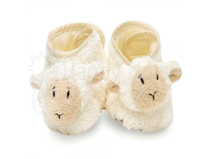 papučky ovečky dárek do porodnice do 500
