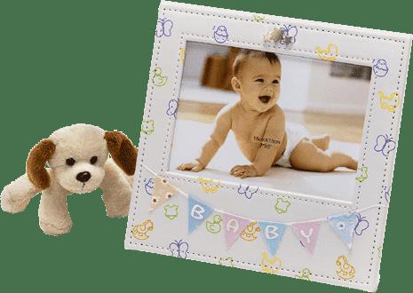 rámeček - dárek novorozenci