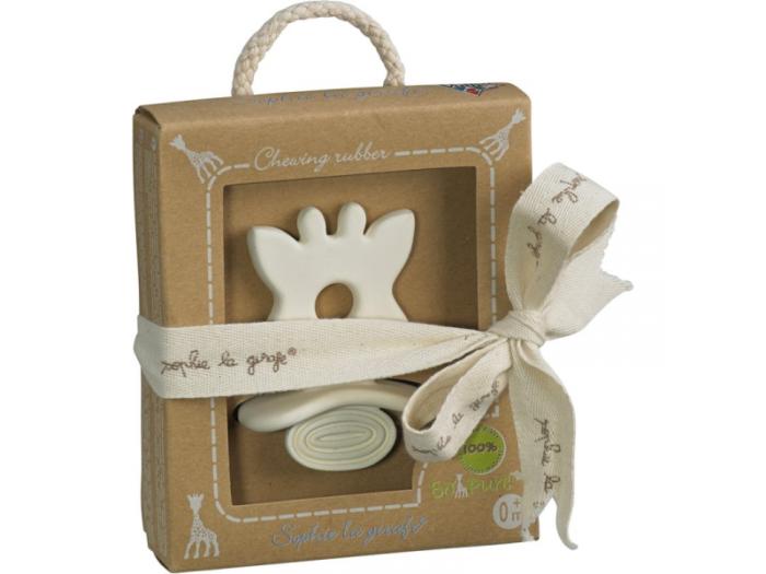 přírodní kousátko dárek pro miminko do 500