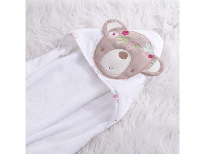 osuška s kapucí - dárek do porodnice