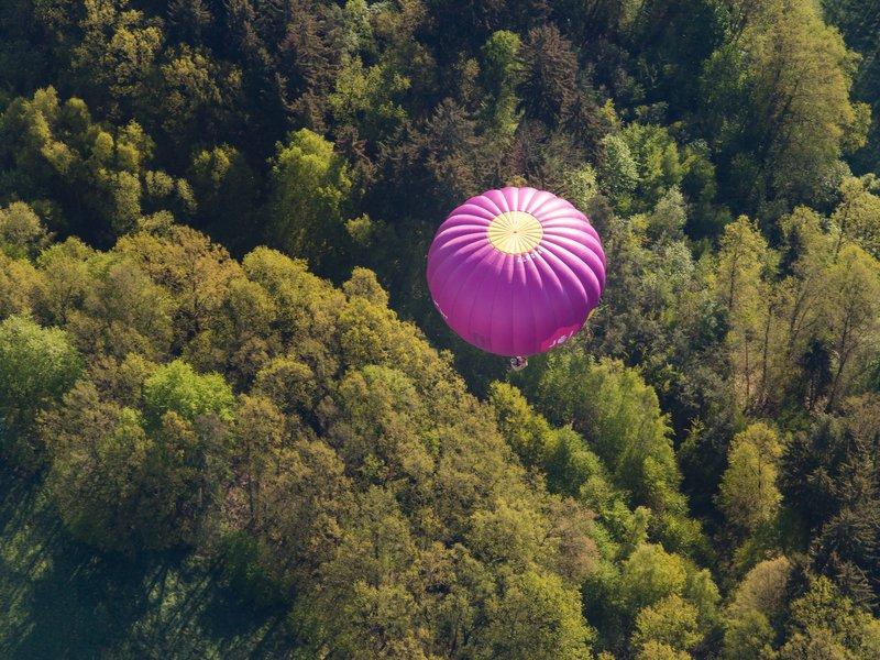 zážitkový dárek let balónem