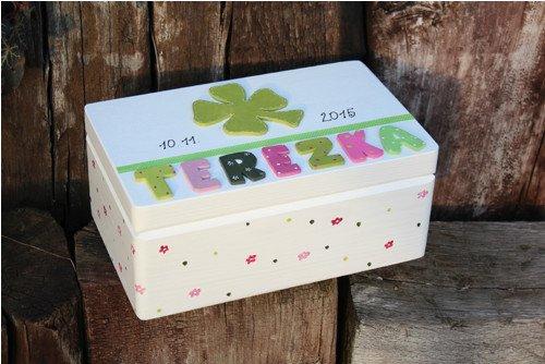 Krabice na mimi VZPOMÍNKY štěstíčko
