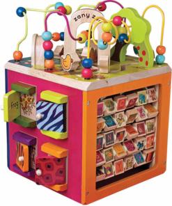 Interaktivní krychle Zany Zoo B-Toys