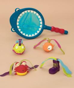 Podběrák s hračkami na potápění Žralok Finley B-Toys
