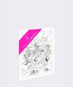 Puzzle k vybarvení OMY Coloring
