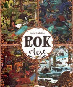 Rok v lese - Emílie Dziubaková - dárek pro děti