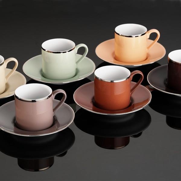Luxusní sada šálků na kávu