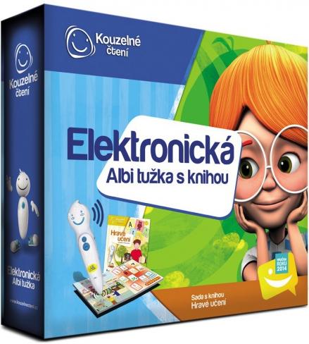 Oblíbený interaktivní dárek Albi elektronická kniha