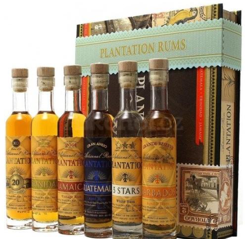 Dárek pro muže - degustační sada rumů