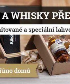 dárek - předplatné alkoholu