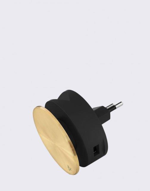 stylová nabíječka na dva USB