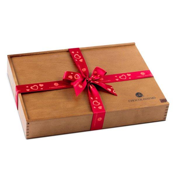 luxusní bonboniéra - personalizovaný dárek k Valentýnu