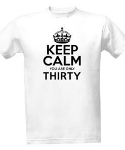 Vtipné tričko k 30. narozeninám