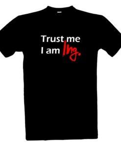 vtipný dárek k promoci Vtipné tričko pro Ing.