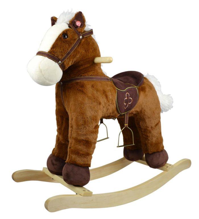 houpací kůň plyšový