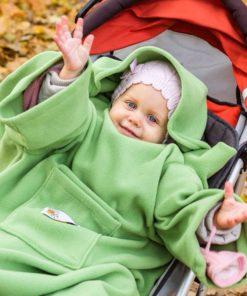Deka s rukávy pro děti Baby Wrapi Active