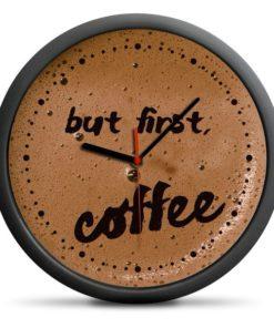 Hodiny káva - dárek pro kafaře