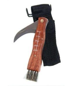 Houbařský nožík se štětečkem