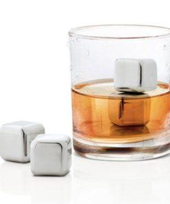 Metal Ice Cubes – ledové kovové kostky do nápojů