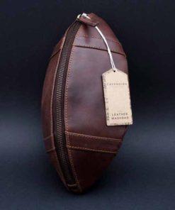 Pánská kožená kosmetická taška - originální dárek pro muže