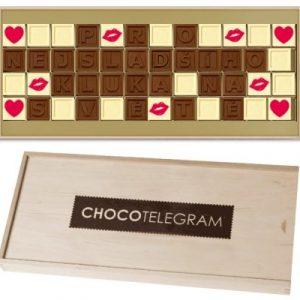Personalizovaný dárek - čokoláda se vzkazem