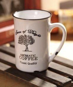 Porcelánový retro hrnek Tree