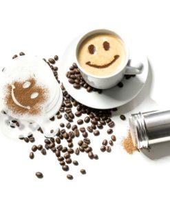 Šablony na kávu (16 kusů)
