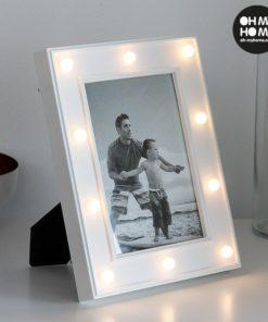 Stolní LED fotorámeček na 1 fotografii