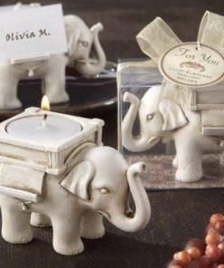 Svícen slon pro štěstí