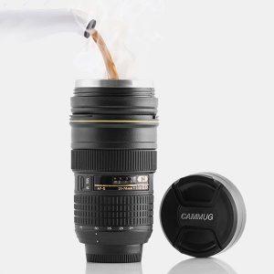 Hrnek objektiv CamMug originální dárek pro fotografy