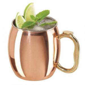 Designový měděný pohár na nápoje