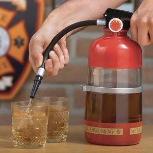 Nádoba na rozlévání alkoholu -hasicí přístroj
