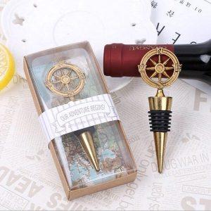 Retro zátka na láhev - kompas
