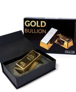 Zlatá cihlička v dárkovém balení