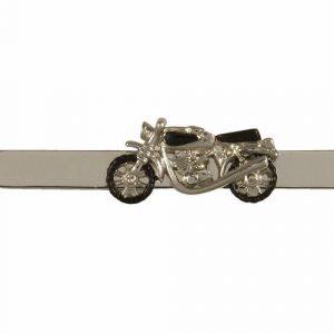 Spona na kravatu FUNNY Motocykl + MOŽNOST GRAVÍROVÁNÍ