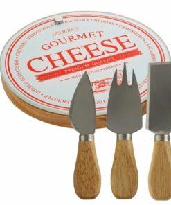 Sýrový set GOURMET GLASS + MOŽNOST GRAVÍROVÁNÍ