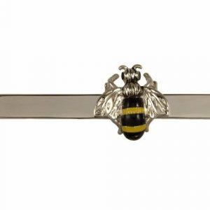 Spona na kravatu Včela + MOŽNOST GRAVÍROVÁNÍ