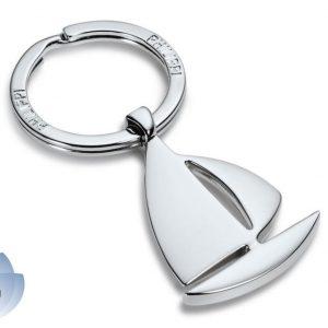 Přívěsek na klíče ve tvaru plachetnice