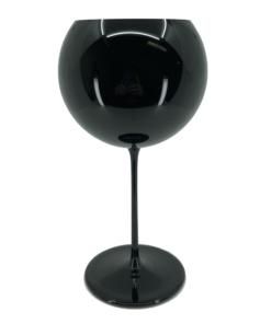černá sklenice na víno - Lukáš Houdek