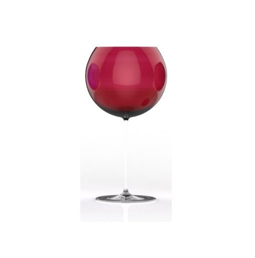 Luxusní sklenice na víno červená - Lukáš Houdek