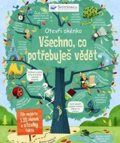 Okénková kniha pro předškoláka: Všechno, co potřebuješ vědět