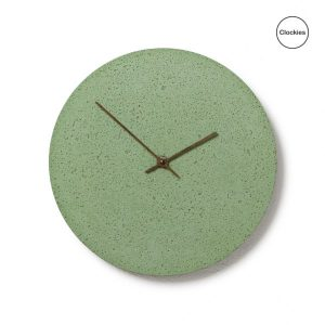 Designový dárek do nového bydlení - Betonové hodiny Clockies
