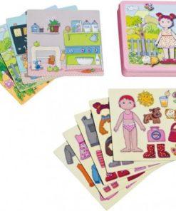 dárek pro holčičku - magnetická oblékací panenka