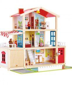 dárek pro holčičky - dům pro panenky s garáží